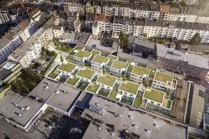 Nach Plänen von HPP entsteht im Düsseldorfer Stadtteil Bilk auf dem Gelände der ehemaligen Schraubenfabrik Max Mothes das MOTHES KARREE