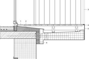 Detail Balkon, M 1:20