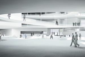 Masterthesis Studiengang Architektur in der Vertiefung Corporate Architecture<br />