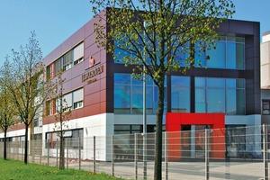 Neubau des Verwaltungsgebäudes für J.J. Darboven in Hamburg, Architekt Andreas Haus, Herborn
