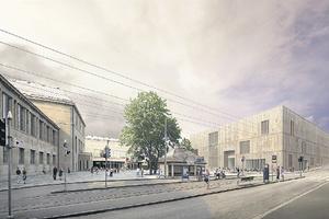 Siegerentwurf für die Kunsthaus-Erweiterung Zürich