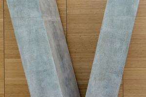 Im Kongresszentrum darmstadtium in Darmstadt<br />waren filigrane Säulen und Pylone vielfach in höchster Sichtbetonqualität maßgenau zu betonieren