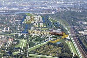 Masterplan für die Neue Mitte Wilhelmsburg