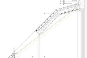 Detail Dachterrasse, M 1:50