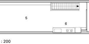 1. Obergeschoss, M 1:200<br />