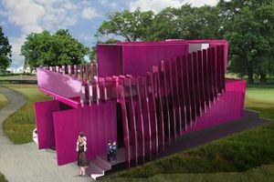 Graft, Katrina House/New Orleans, 2011, - ein hypothetischer Entwurf für das Pink Project, das - unter der Schirmherrschaft von Brad Pitt – den schnellen Wiederaufbau der zerstörten Wohngebiete in New Orleans fördert