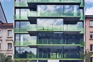 Lofthaus Basel: 2002 fertig gestellt, erhielt es die Auszeichnung für Gute Bauten des Kantons Basel-Stadt und ein Jahr später den Bauweltpreis<br />