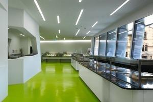 Die Anzahl der neuen Büros und die neuen Mitarbeiterzahlen machten auch ein neues Küchengebäude notwendig<br />