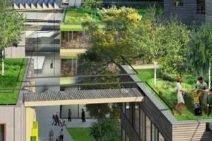 Low2No in Helsinki, Finnland - Projektteam: Sauerbruch Hutton Architekten, Berlin und Arup, London und Experientia, Italien