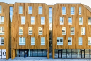 Studentenwohnungen in der Sørhauggata in Haugesund, Norwegen von Helen & Hard