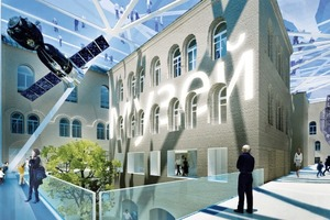 Polytechnisches Museum in Moskau, Entwurf 2011<br />