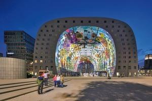 Nicht allein fotogen: Markthal in Rotterdam (MVRDV)