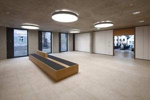 Klare Räume, unprätentiöse Materialien, einfache Strukturen: Bürgerfreundlich