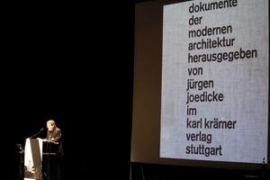 Jürgen Joedickes Publikationen werden vielfach erwähnt und zitiert