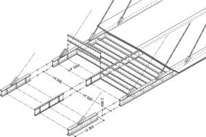 Trägerrost im Verbund mit einer Stahlbetonplatte