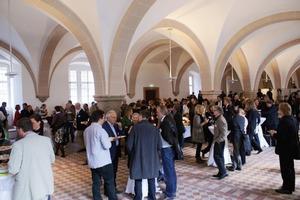 Das Symposium fand im Laiendormitorium des Zisterzienserklosters Eberbach in Eltville im Rheingau statt<br />