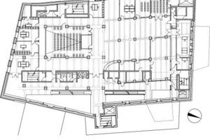 Grundriss Ebene 2, M 1:750<br />