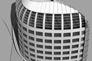Isometrie zur Gebäudestuktur<br />