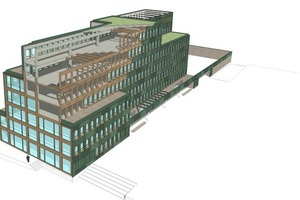 Abb. 6:Bürogebäude H7, Münster