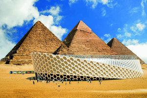 Ibsen-Show vor den Pyramiden oder auch sonstwo in der Welt: Various Architects machens möglich