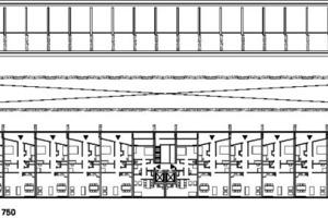 Grundriss Regelgeschoss, M 1:750