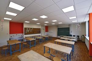 Werkraum Grundschule Kirchzell: Besondere Funktionen können eigenständige raumakustische Anforderungen zur Folge haben, etwa in Werkräumen