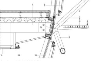 Fassadenausschnitt, Detail 8, M 1:25<br />