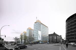 City-Höfe Hamburg: Noch stehen sie vor der Welterbestätte Kontorhausviertel