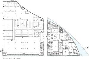 Grundriss Ebene 0, M 1:1250<br />