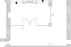 Detail Treppe, M 1:100