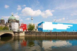 Eine Kunsthalle auf Abruf: temporär, emphemer, wolkenhimmelschön