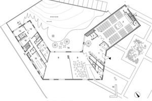 Erdgeschoss, M 1:500<br />