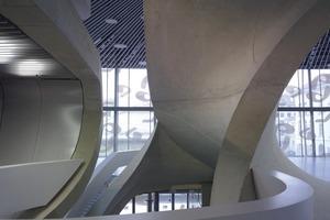 In diesem Projekt werden Ebenen verdreht, z.B. werden  Wände zu Geschossdecken und umgekehrt