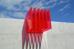 Acrylobjekt von Christoph Haerle, Zürich
