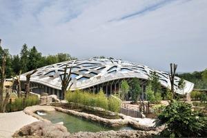 Das Elefantenhaus im Zürcher Zoo sollte laut Raumprogramm einen Innenbereich von 6000m² haben, mit einer Höhe von 18m. Eine weitere Vorgabe war, dass es in Einklang mit der Natur, ja fast unsichtbar, sein soll