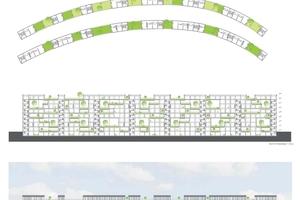 1. Preis: Grünes Wohnen in der Stadt, Sofie Miller