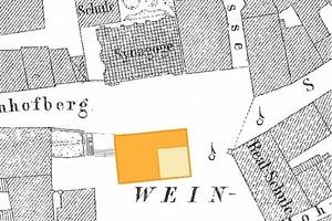 Historischer Lageplan, ksg architekten