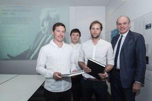 vlnr: Nicolai Schlapps, Gerhard G. Feldmeyer, Jakob Giese, Joachim H. Faust