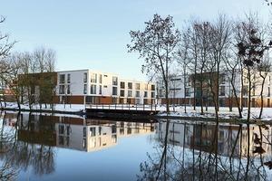 Die 2008 fertiggestellte Wohnanlage für Student-Innen macht Lust auf ein spätes Zweitstudium<br />