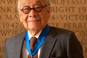 Goldmedaillenträger: Io Ming Pei