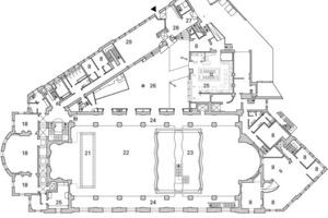 1. Obergeschoss, M 1:600<br />