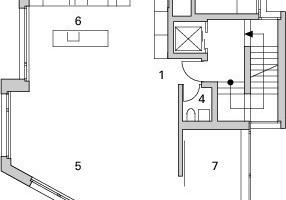 Grundriss 4.Obergeschoss, M 1:250<br />