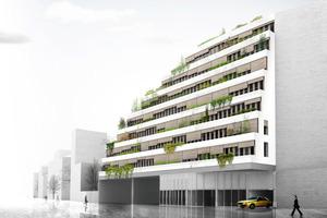 RAT Busdepot und Bürogebäude in Montrouge, 2013<br />