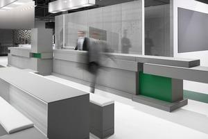 Transformation eines temporären Messestandes zur dauerhaften Architektur: Eternit Akademie von Astrid Bornheim<br />