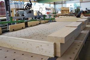 Bei der Vorfertigung verlagert sich der Herstellungsprozess eines Bauteils von der Baustelle in die Produktionshalle