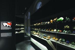 Kategorie: Museen Projekt:  Mineralogische Sammlung Schloss Freudenstein L-Plan Lichtplanung, Michael F. Rohde (Foto: Sven Fröhlich, AFF Architekten)