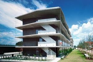 Der Deutsche<br />Architekturpreis 2007 ging an Fink + Jocher, München, für ihr Studentenwohnheim in<br />Garching<br />