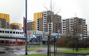 Bekommt Bundesgelder: der Kölner Stadtteil Chorweiler