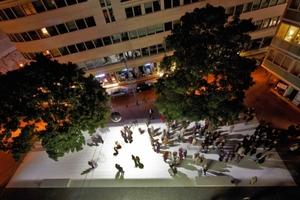 Neugestaltung L.-Fritz-Gruber-Platz in Köln-Mitte (Architekten: scape LandschaftsArchitekten, Düsseldorf; Burkhard Wand Lichtplanung, Hamburg; Bauherren: Stadt Köln – Stadtplanungsamt)