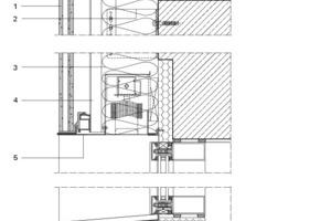 Fassadenschnitt, M 1:10